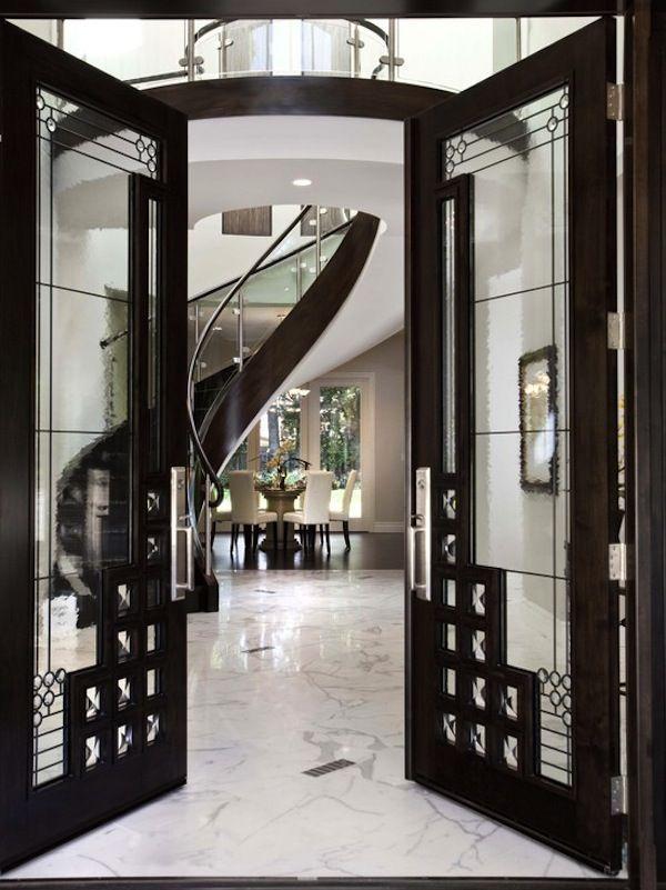 Gatsby Inspired Interiors:  Grand Foyer   Spiral Stairs   Glam Design   Great Gatsby   Set Design