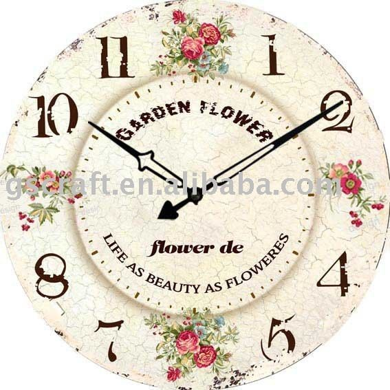 Like the shabby chic look of this clock