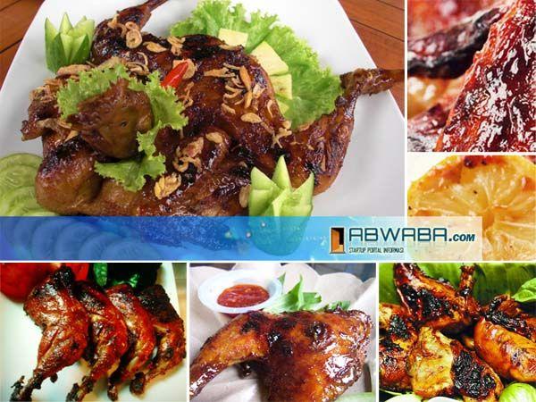 Resep Ayam Bakakak Jawa Barat Resep Ayam Resep Resep Masakan