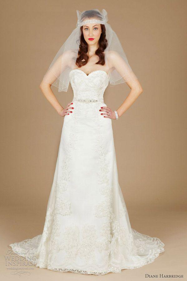 41 best Diane Harbridge Dresses images on Pinterest | Wedding frocks ...