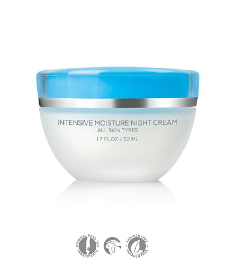Size: 1.7 FL.OZ / 50ML  SEACRET Intensive Moisture Night Cream Nourish your skin all night with this unique combination of Dead Sea minerals and herbal complexes, so you wake up feeling refreshed and ready to face the new day. The Intensive Moisture Night Cream replenishes your skin's lost mois...