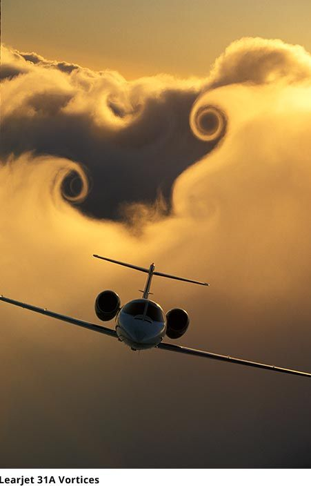 Flying to our next adventure. Paul Bowen. Lear Jet Vortices.  Zippertravel.com Digital Edition