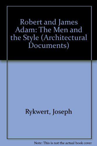 Robert & James Adam (Architectural Documents)