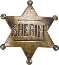 And for my next trick, I am going to try and make a sheriff's badge out of brass for my boyfriend's dad...