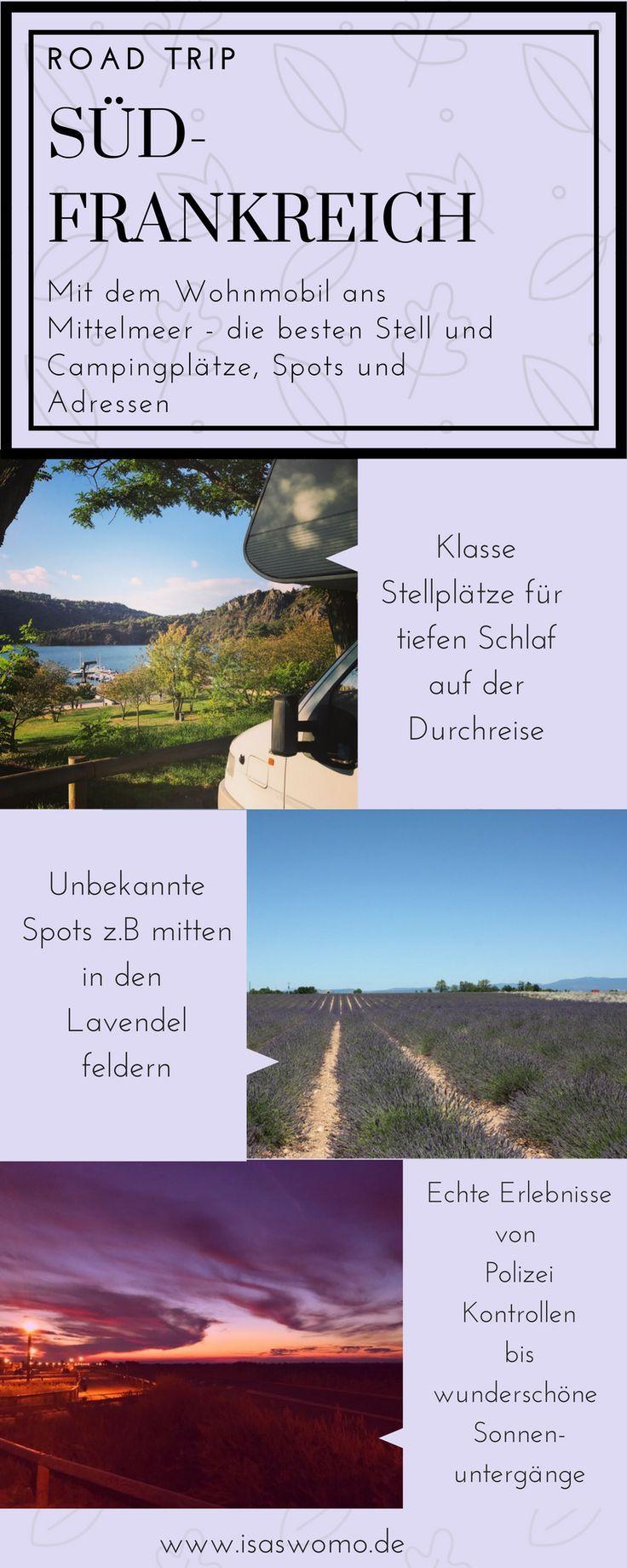 Stellplatz Tipps Südfrankreich – Die besten Stell- und Campingplätze meiner Touren – Szilque