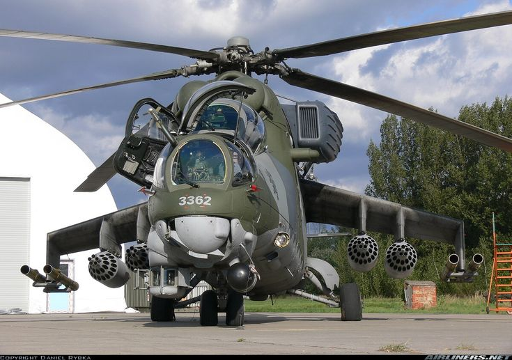Attack Helicopter | Russian Mi-35 Attack Helicopter is manufactured by the Mil Helicopter ...