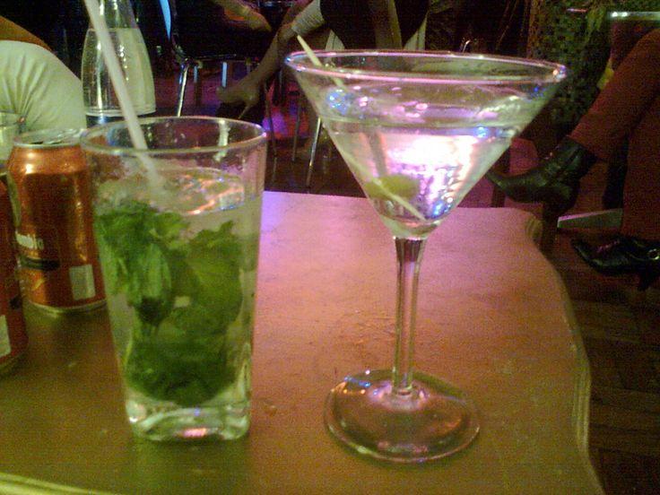 Dry Martini y Mojito