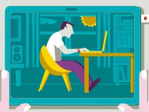 http://youtu.be/nnpHLxlj3fQ   short, cute video on keyboarding posture.  No voice over, good for ELL students