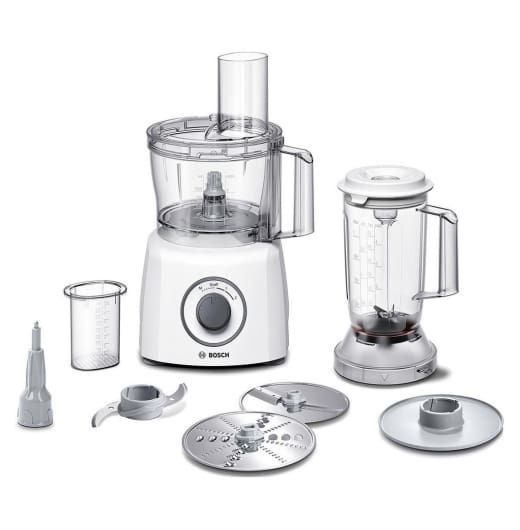 Bosch Food Processor, 800W - Bosch products are all about making daily life at home easier and more enjoyable. Their focus is on developments that considerably contribute to easing the load, creating a little more quality time for you and your loved ones