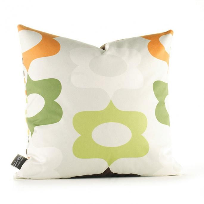 Laugh in Grass and Lime Pillow