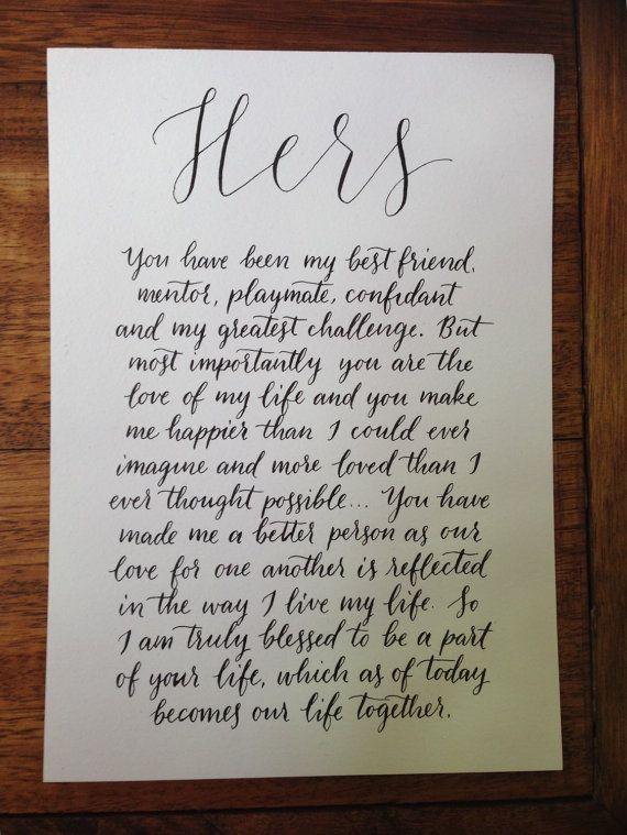 17 Best Ideas About Wedding Vow Art 2017 On Pinterest
