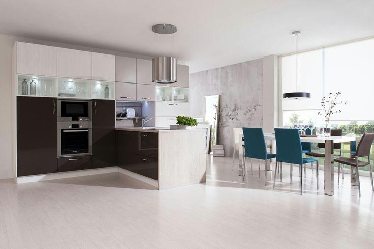 13 best Kitchen images on Pinterest | Contemporary unit kitchens ...