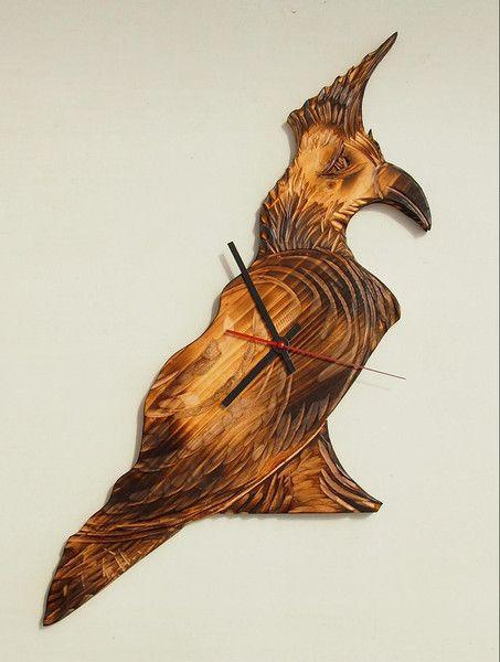 Design Wanduhr Holz Exotisch Elegante Handgemacht Von Mueller Designs ES Auf DaWanda