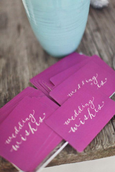 2014 Color Radiant Orchid Wedding Stationery. Photo source: fusion bollywood inc. #radiantorchid #weddingstationery