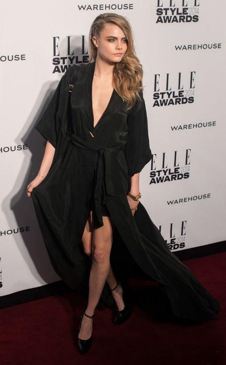 Cara Delevigne vs. Poppy en los Elle Style Awards