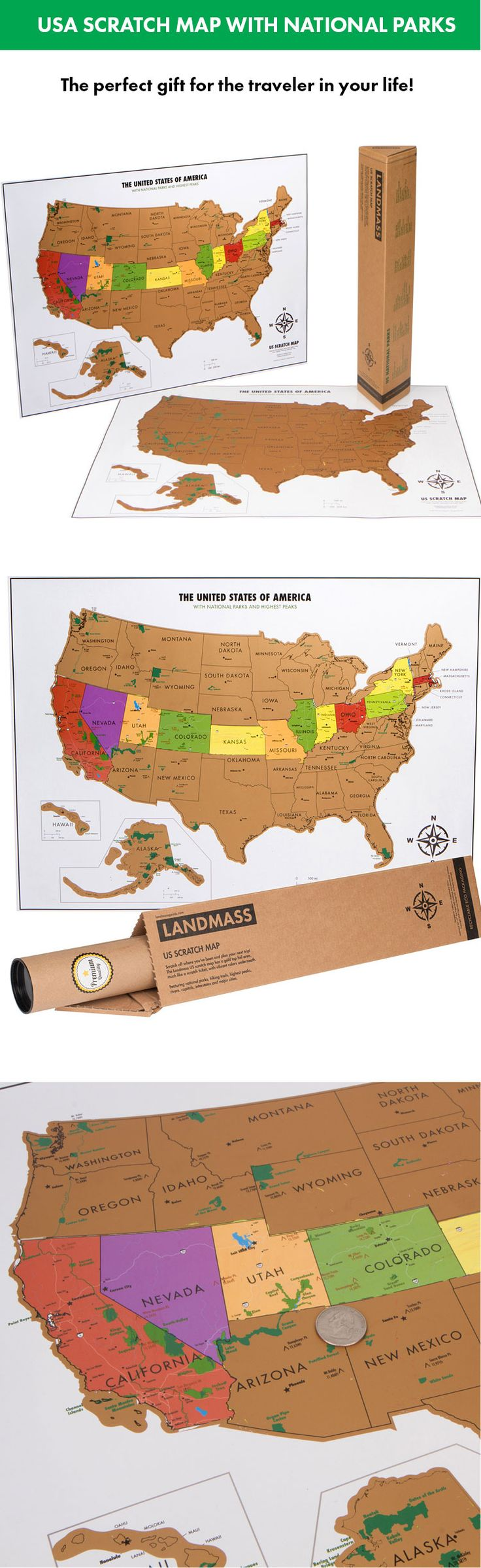 Best  Usa Maps Ideas On Pinterest - Us national parks interactive map