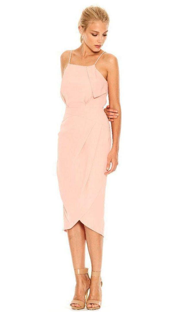 Cooper St Silver Dreams Dress In Blush