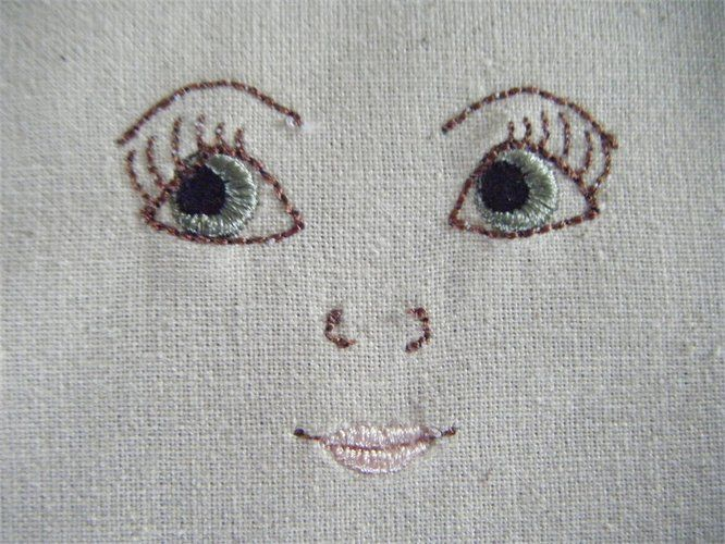 Rag doll face - pretty
