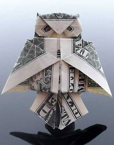 money origami owl - I seem to never tire of creative ways to give cash!