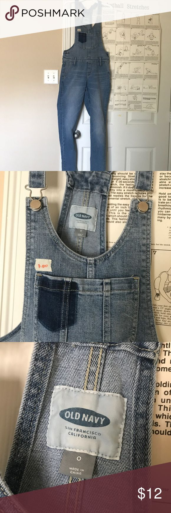 old navy overalls light blue old navy overalls with long pants, great condition Old Navy Jeans Overalls