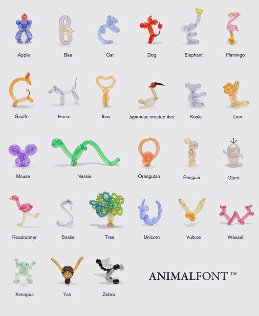 Balloon Animals Designs I Love Pinterest Animal Animal