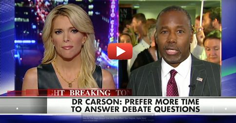 Ben Carson slams CNN debate format to Megyn Kelly; 'moderators lost control'
