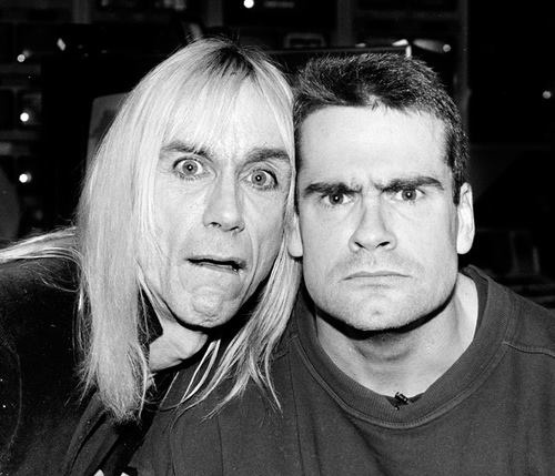 The Stooges and Black Flag // Iggy Pop and Henry Rollins