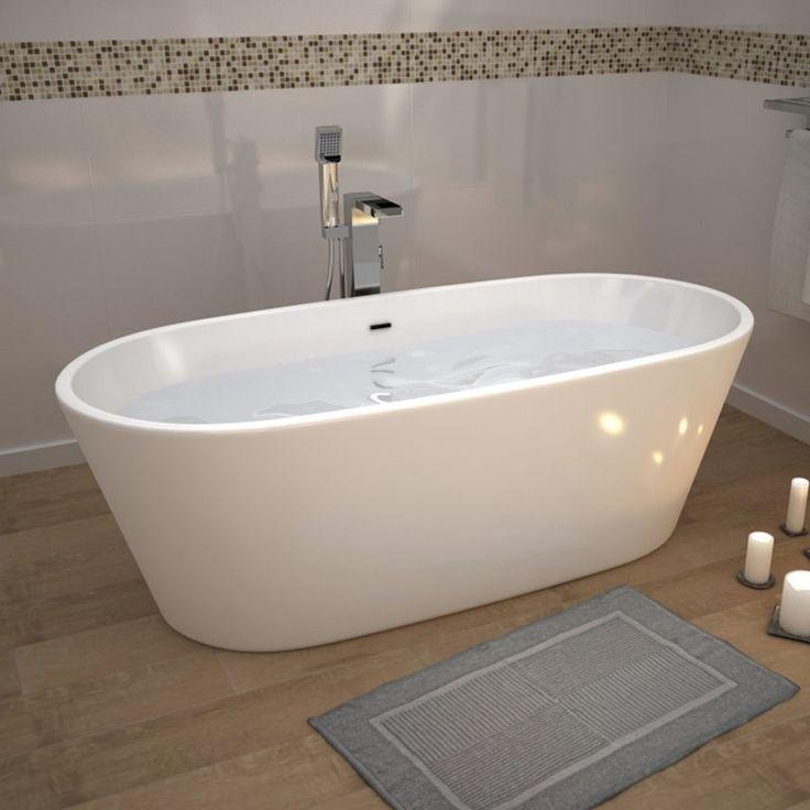 Les 25 meilleures id es concernant baignoire acrylique sur for Baignoire acrylique