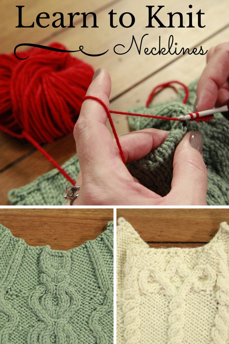 Free online knitting class! Bring the focus to your face by learning how to add interesting, dramatic necklines to cabled garments. Whether you're knitting for yourself or as a gift, these creative necklines will add that extra personal touch you've been looking for!