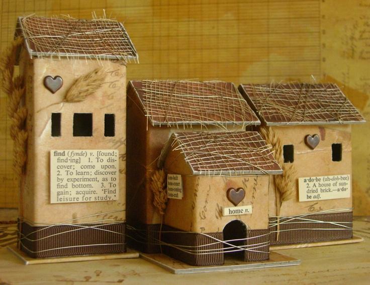 Tiny Tuscany houses.