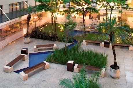 paisagismo do condomínio Brascan Century Plaza