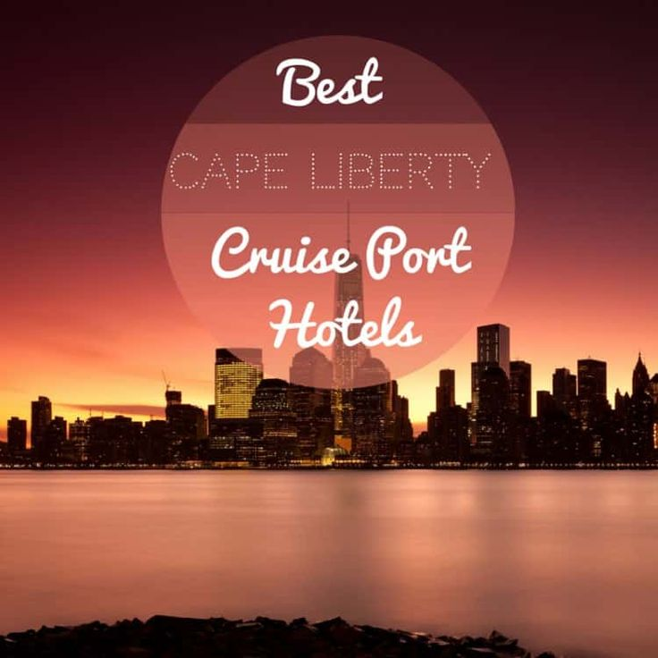 It can be tricky to find a great hotel in the Cape Liberty area which offers packages for cruisers, but we've found a few: Newark Liberty International Airport Marriott Newark Liberty International Airport, 1 Hotel Road, Newark NJ 07114 | 973-623-0006 If you're flying into Newark to catch your cruise out of Cape Liberty, there