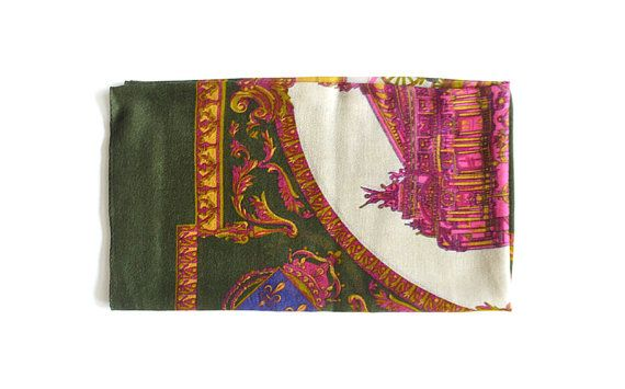 Palace Design Scarf Men's Scarf Women's Scarf Unisex by MunaFabriC $11.00 - Shipping Worldwide! [Click Photo for Details]