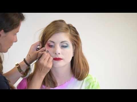 Maquillaje de moda para Halloween: Harley Quinn - Vegaoo.es