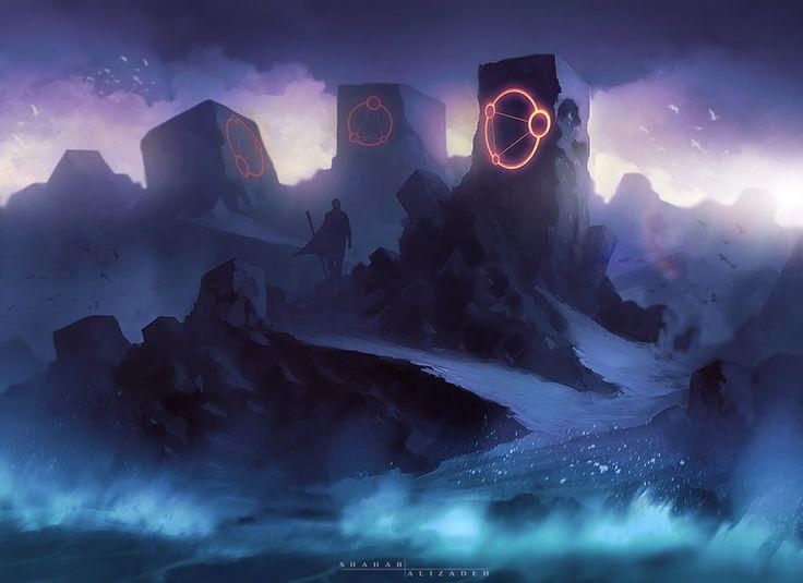 Mana Shore by Shahab Alizadeh | Fantasy | 2D | CGSociety