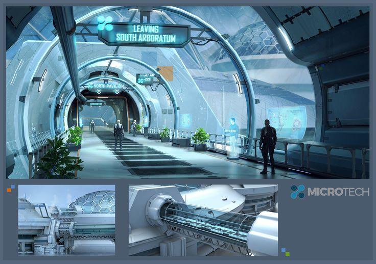 ArtStation - Star Citizen_MicroTech Bridgeway, Ken Fairclough