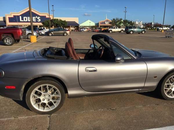 '02 Mazda Miata MX-5 Convertible for sale (Bryan/College Station) $6900: < image 1 of 5 > 2002 Mazda Miata MX-5 VIN:…