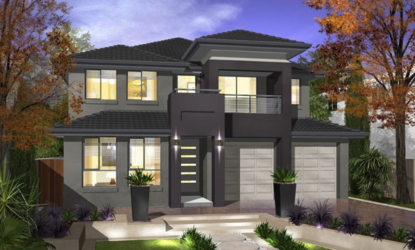 Firstyle Home Designs: Newbury 29 - Millenium Facade. Visit www.localbuilders.com.au/builders_nsw.htm to find your ideal home design in New South Wales