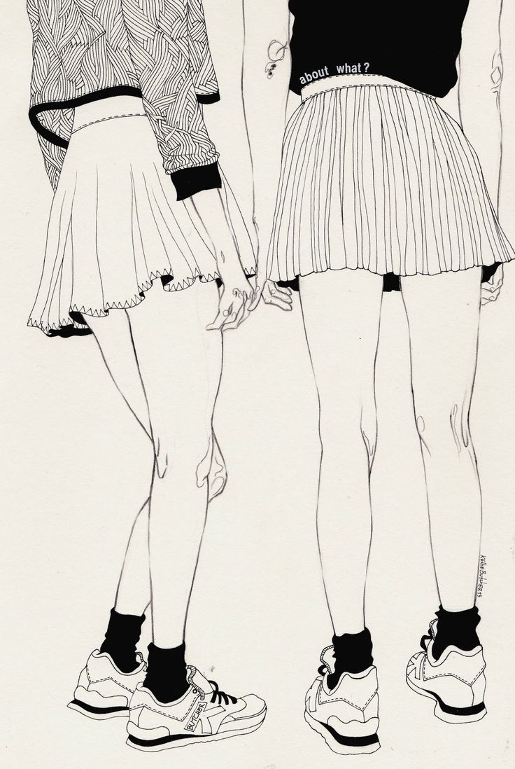 I have to do research into drawing skirts- love the simplicity of these ones.