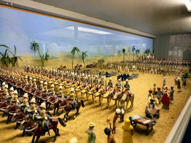 D Models Collection Exhibition Amp Event : Vintage toy soldiers from the model soldier museum