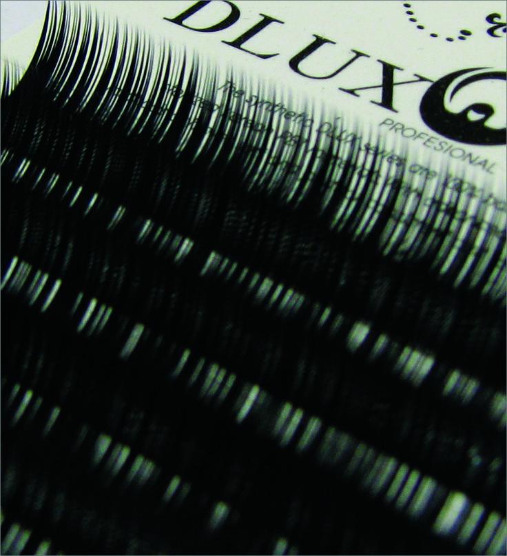 Dlux Professional Mink típusú szálas műszempilla.