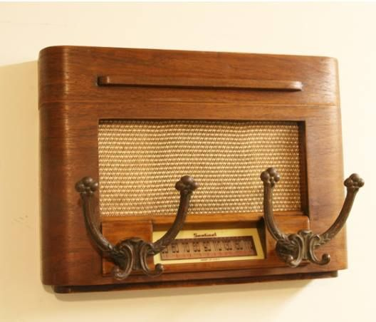 Love this !! Repurpose an old broken radio front!