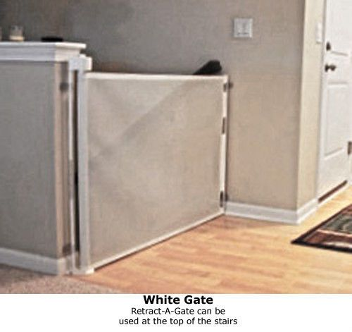 Retractable Baby Gate   Safety Dog Child Pet