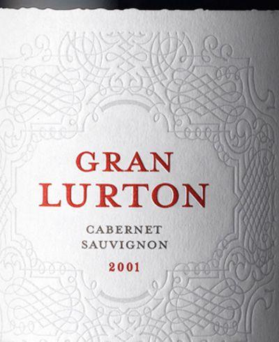 Gran Lurton wine, packaging design by Stranger & Stranger