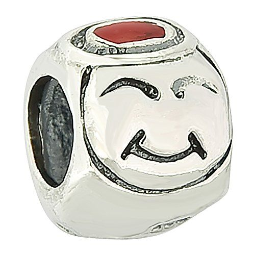 Angel And Evil Smile Face Authentic Sterling Silver Solid Family