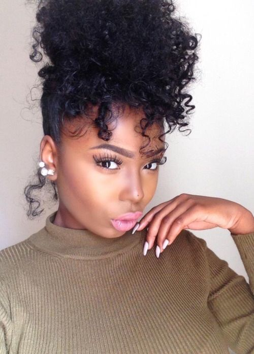 Wondrous 1000 Ideas About Natural Hairstyles On Pinterest Natural Hair Short Hairstyles For Black Women Fulllsitofus