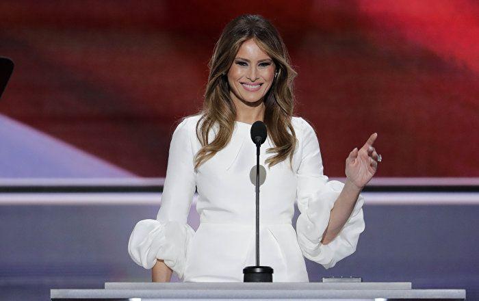 Die Ehefrau des neuen US-Präsidenten Donald Trump, Melania Trump, hat in ihrem Twitter-Profil den ersten Tweet als First Lady veröffentlicht.
