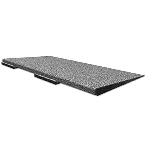 Ada ramp for 2x2 ft x inch sterling rubber floor tile for Ada flooring