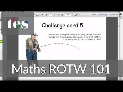 Maths Investigations - TES Maths Resource of the Week 101 - Mr Barton Maths Blog