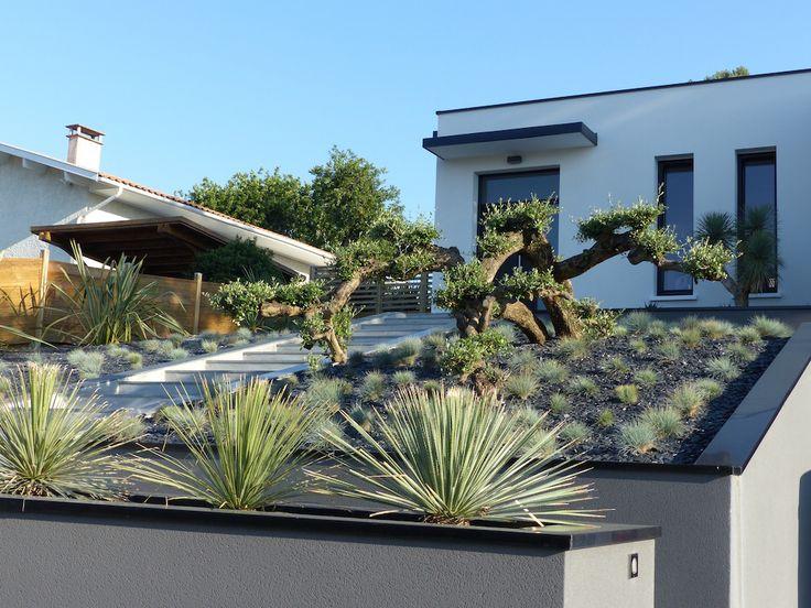 17 meilleures id es propos de jardin minimaliste sur pinterest buis jardins modernes et. Black Bedroom Furniture Sets. Home Design Ideas
